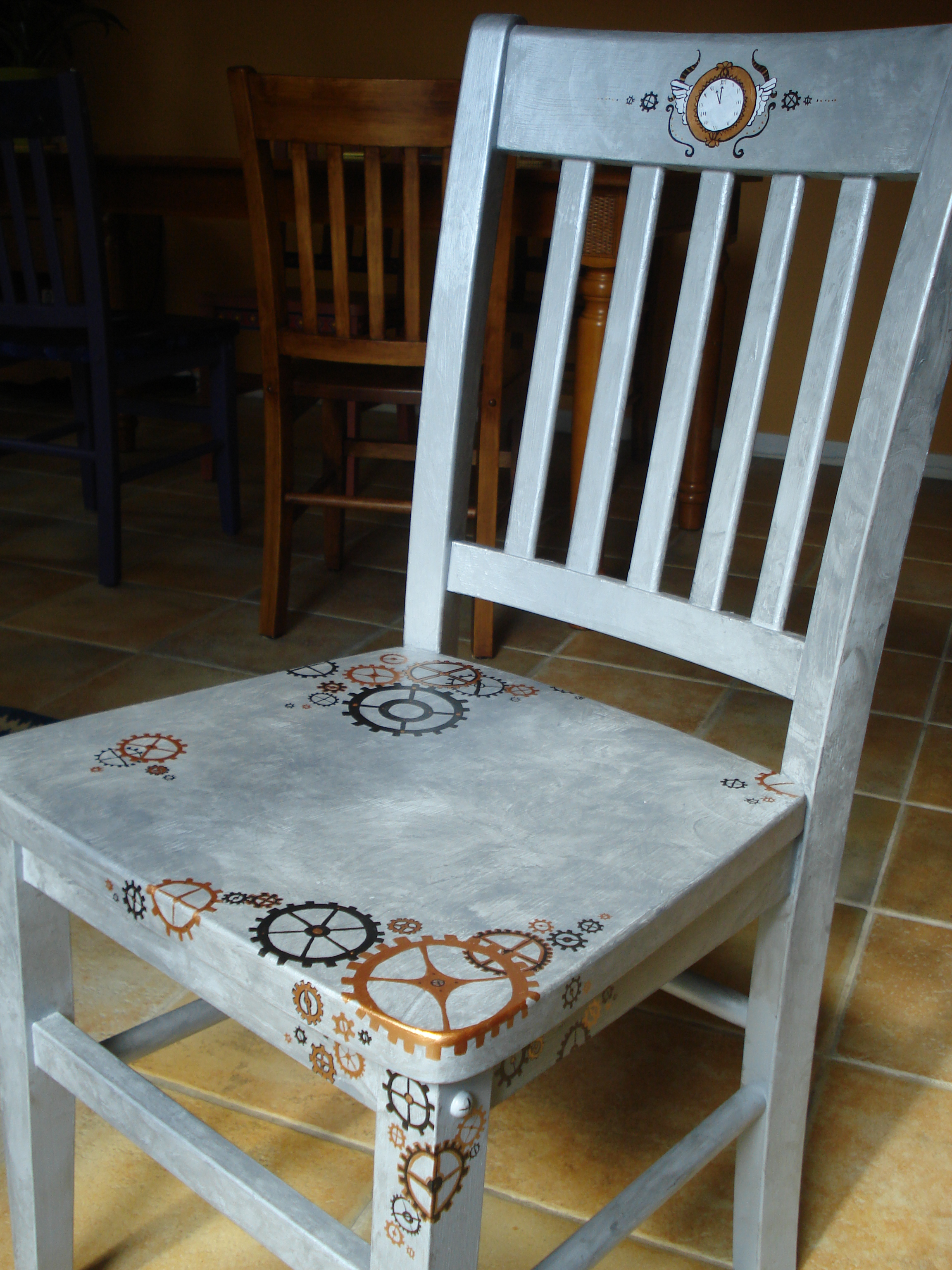 Filling the creative well part 1 for Steam punk chair